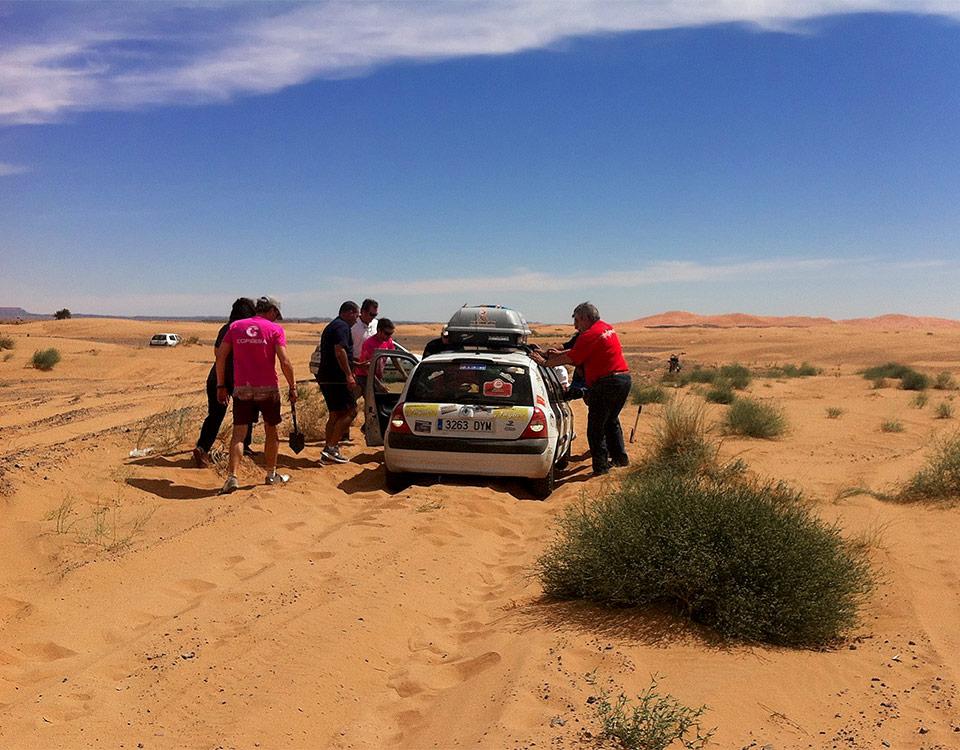Clio Raid Marrakech Holastream